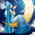 Moon fairy picture