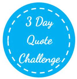 3 day quote challenge